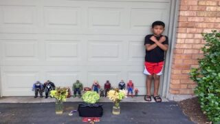 Kids Are Holding Memorials For Chadwick Boseman Using Their Action Figures