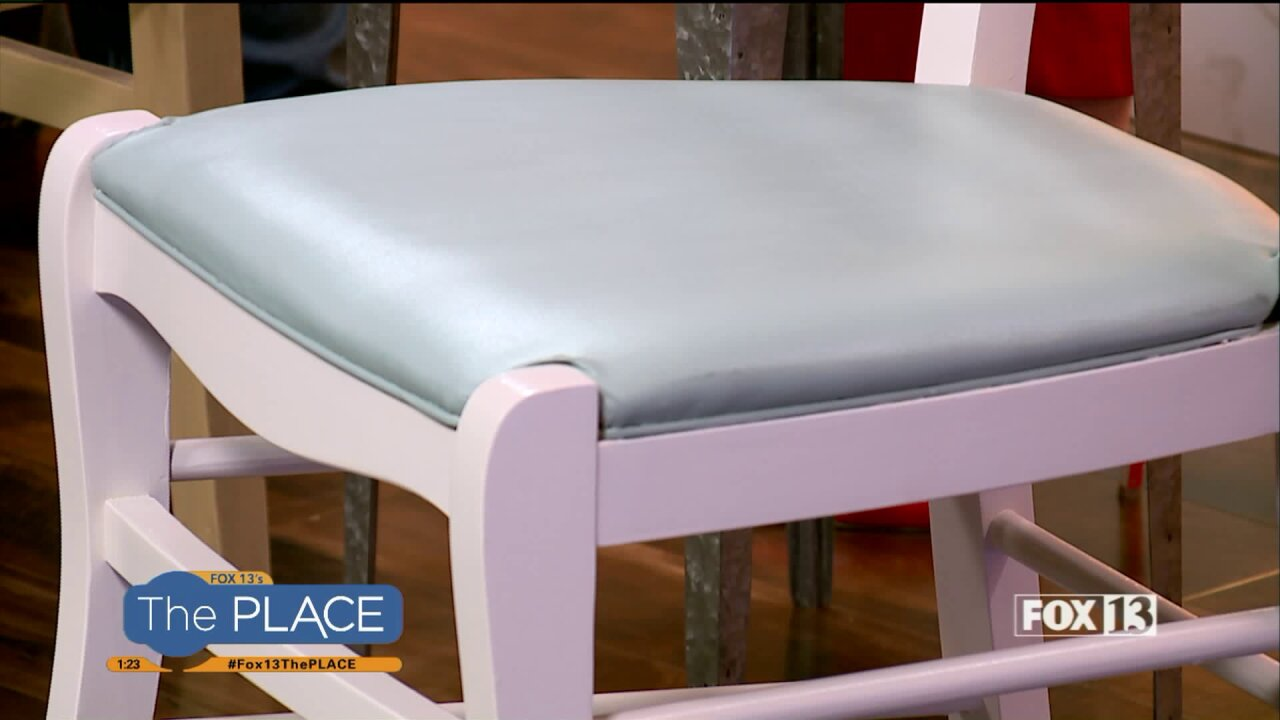 Before you re-upholster your furniture, try paintingit!