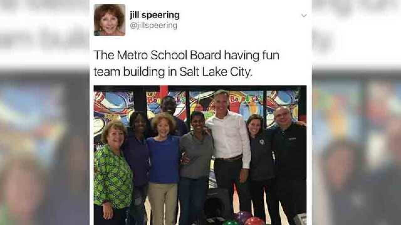 School Board Member Defends Salt Lake City Trip