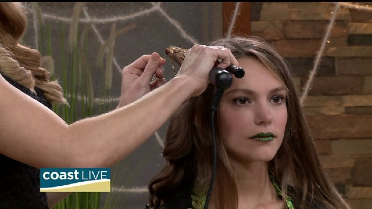 Curling and styling hair between washings on CoastLive
