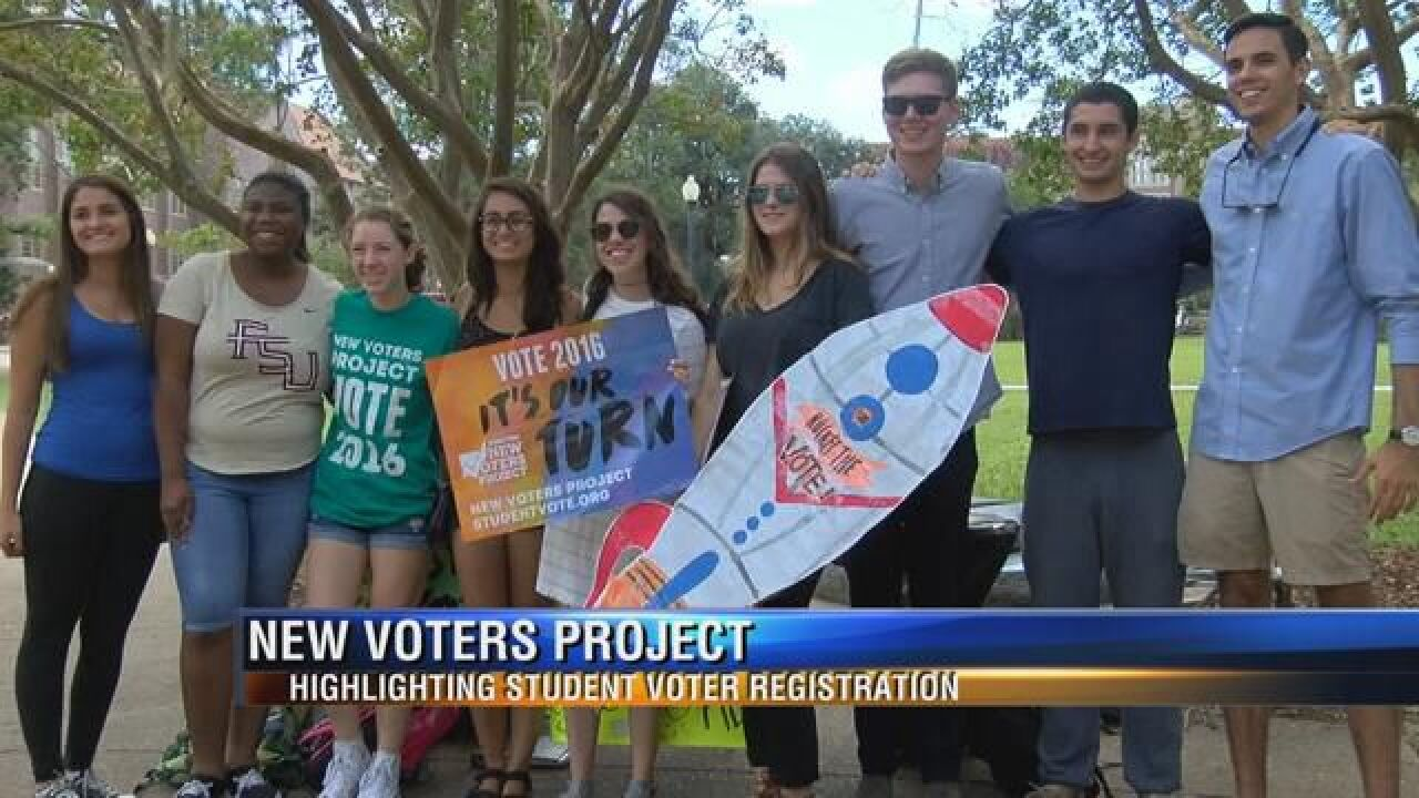 FSU Students Push Their Peers to Register to Vote