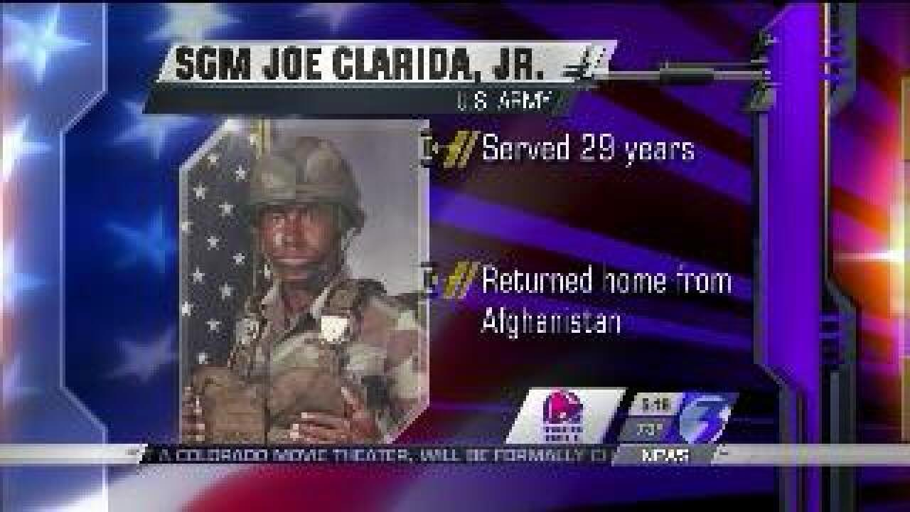 Those Who Serve: SGM Joe Clarida, Jr.