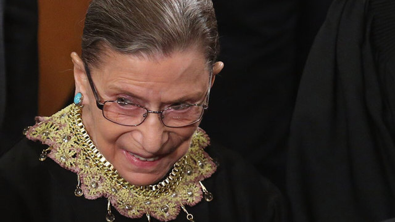 Trump says Justice Ruth Bader Ginsburg's 'mind is shot'
