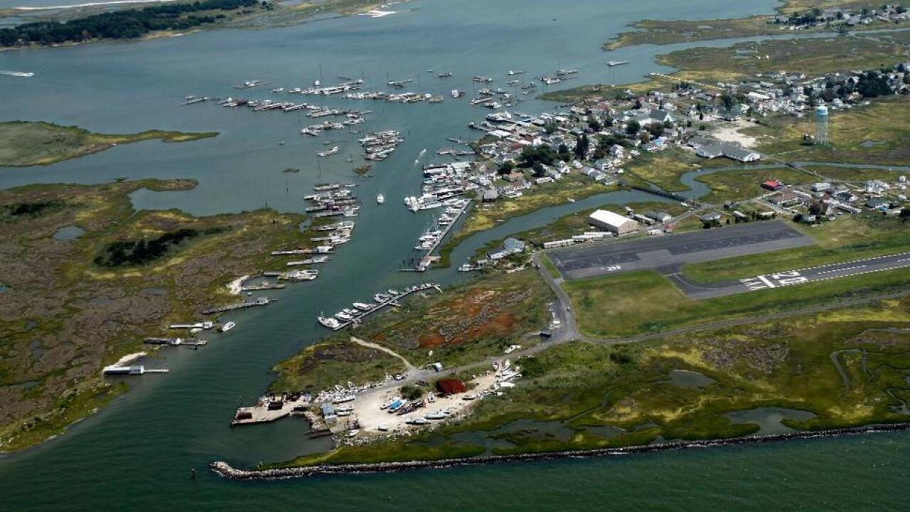 Secluded Chesapeake Bay island keeps eye on virus from afar