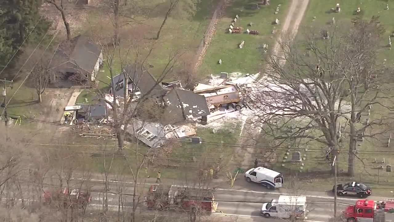 Semi destroys house in Michigan, only minor injuries reported