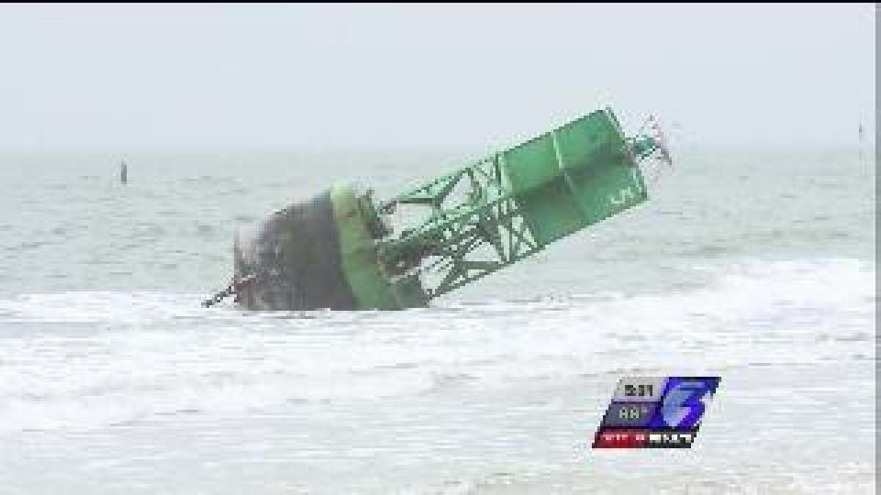 UPDATE: Navy to remove buoys from Oceanview, Chick's Beach