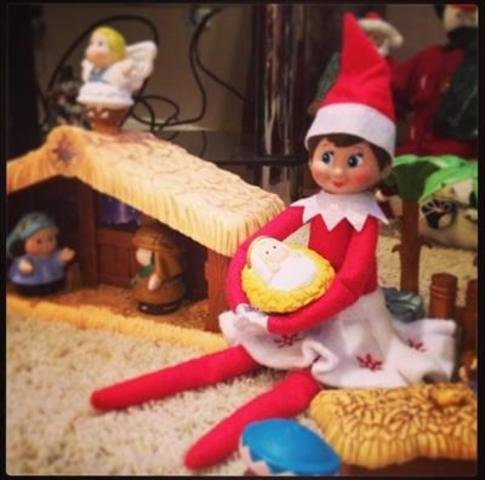 Yes! Pics: Elf on the Shelf