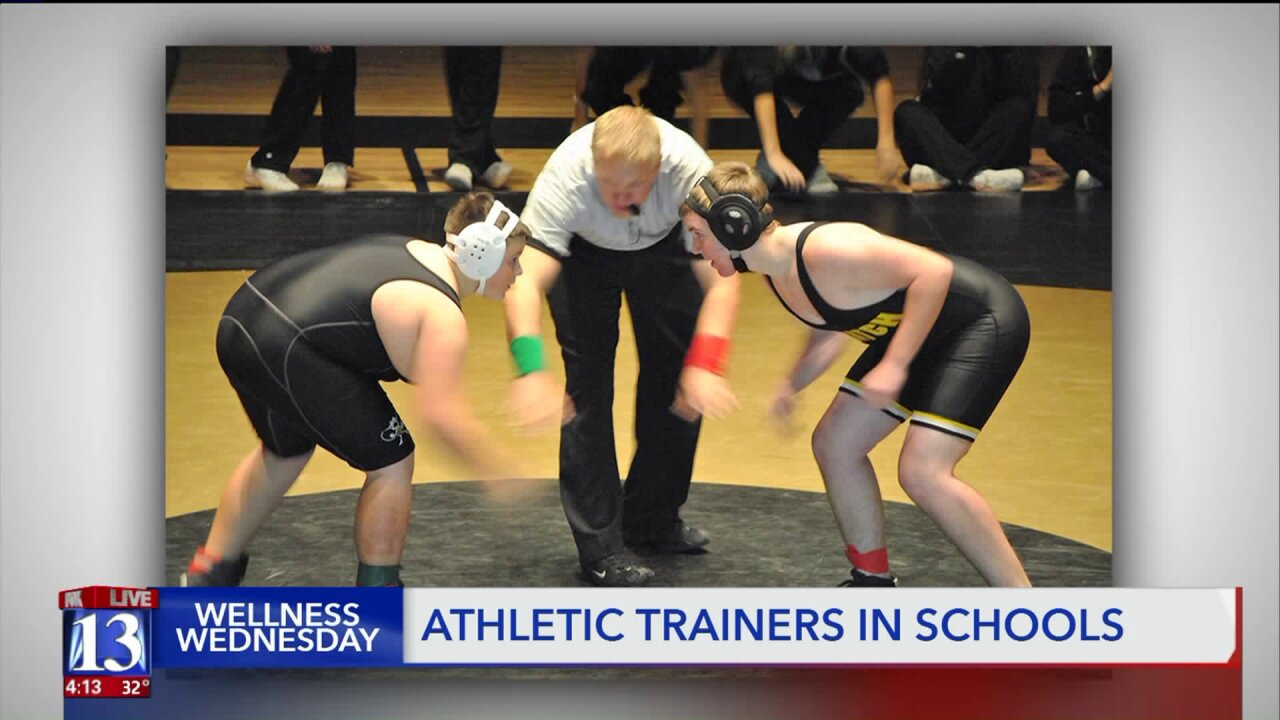 Wellness Wednesday – How Certified Athletic Trainers keep teen athletes safe