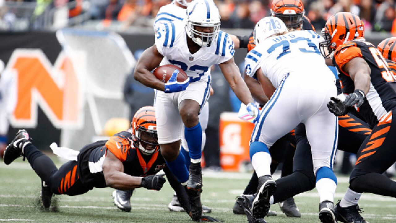 Another one slips away. Bengals 24, Colts 23