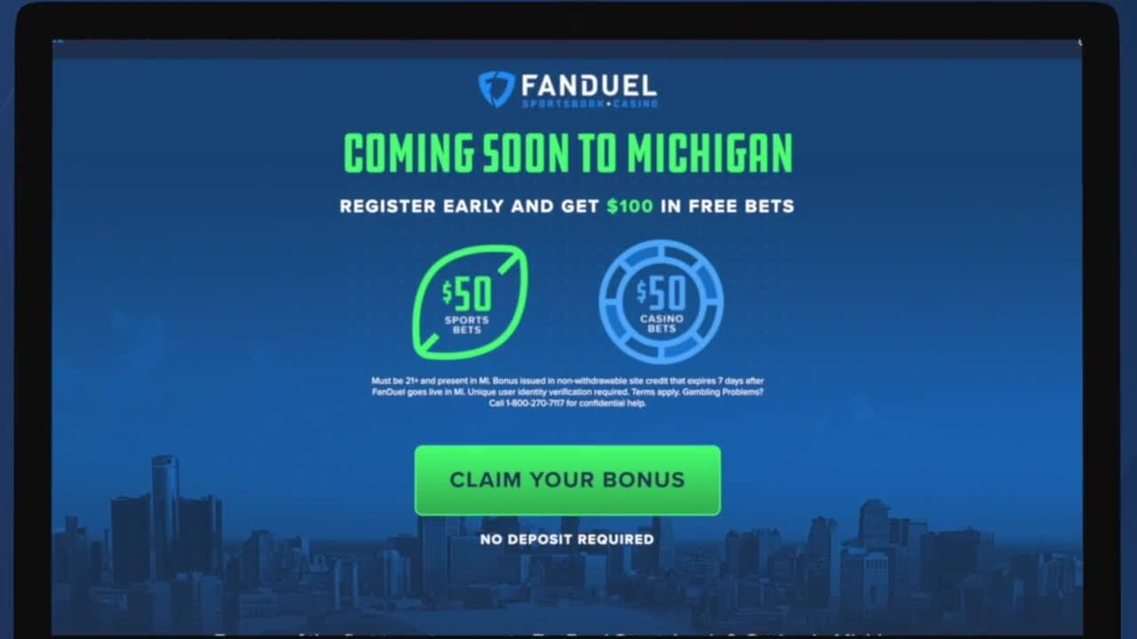 Online sports betting michigan can you bet on bovado from nc