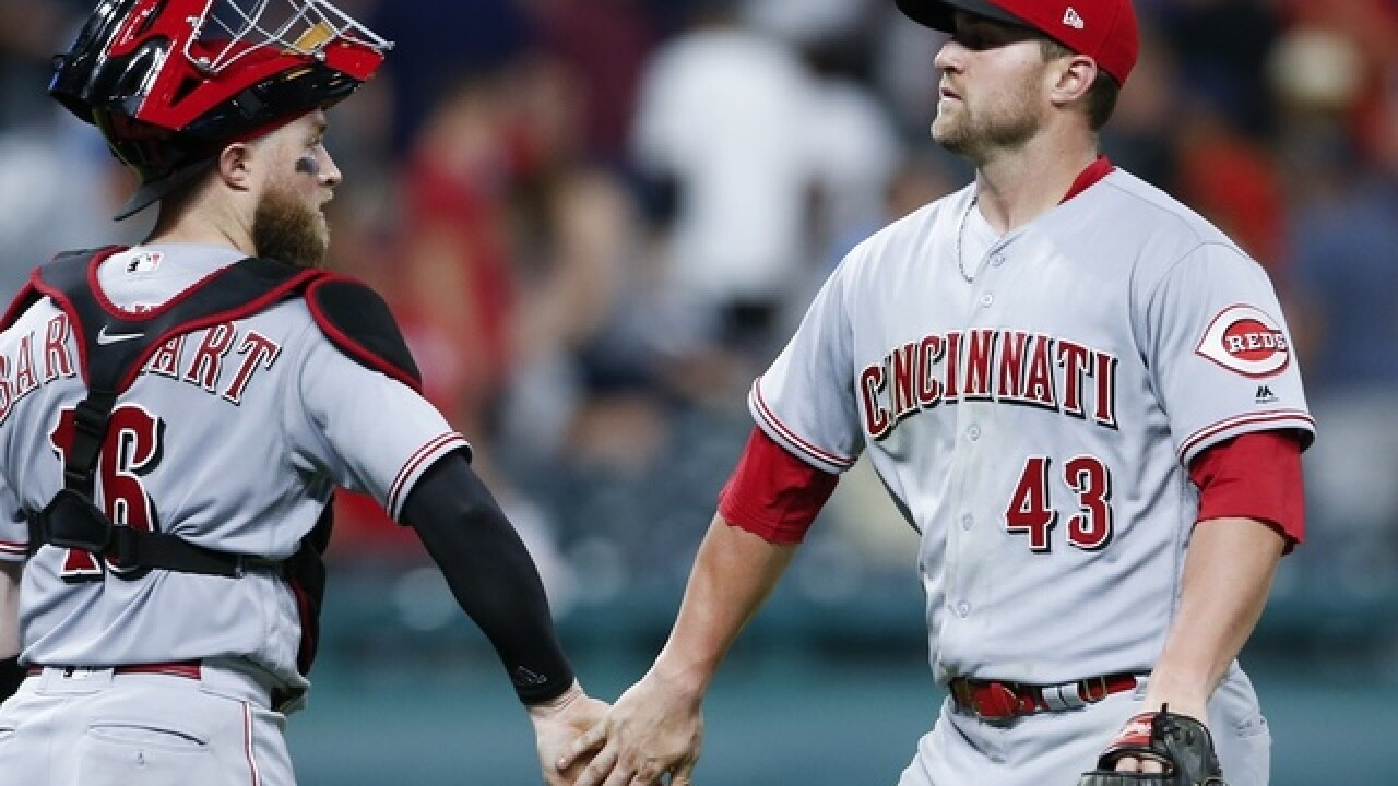 DeSclafani allows 1 run, Schebler homers; Reds top Indians