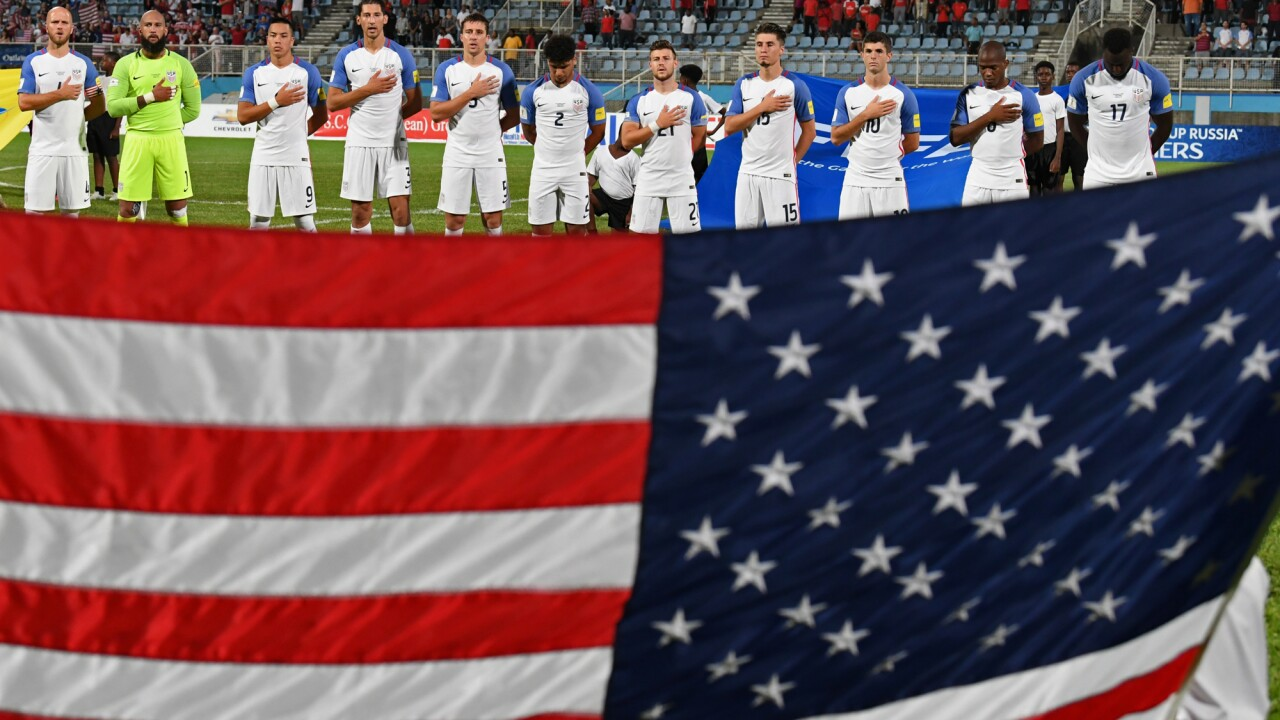 U.S. men's national soccer team fails to qualify for 2018 FIFA World Cup