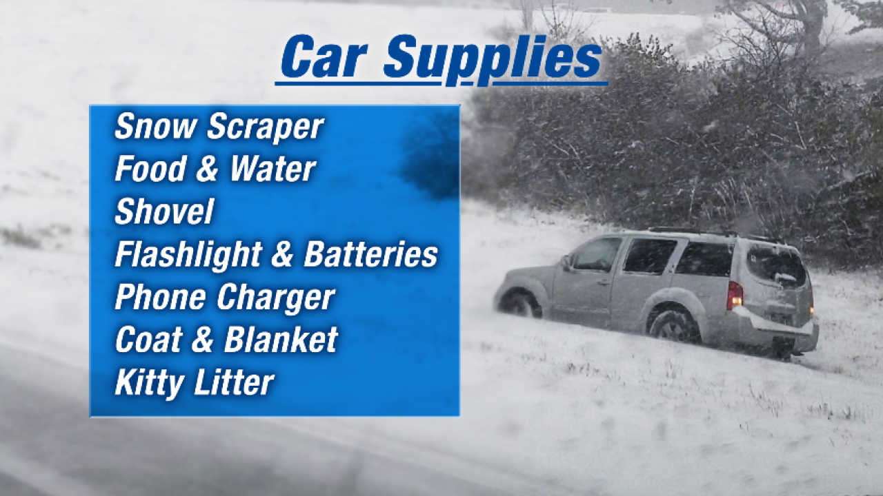 Winter Car Supplies