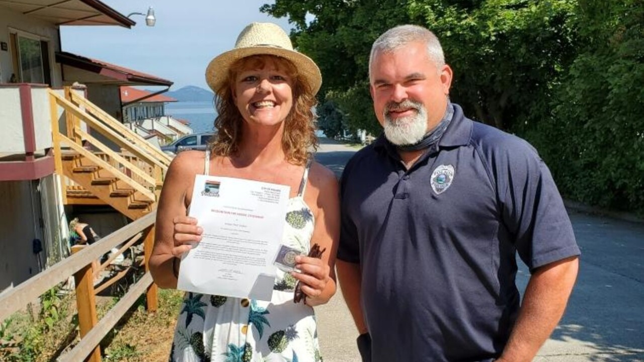 """Polson PD honors citizens for """"heroic actions"""""""