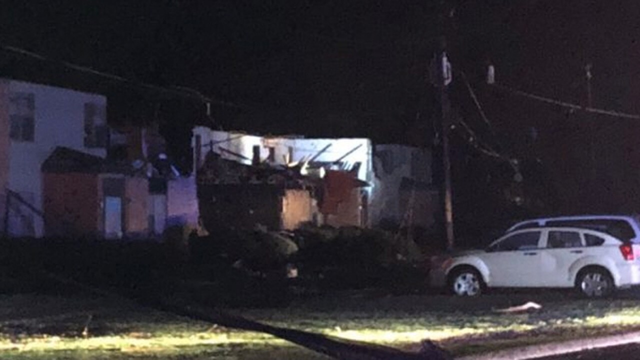 Apartment Complex Majorly Damaged In Hopkinsville