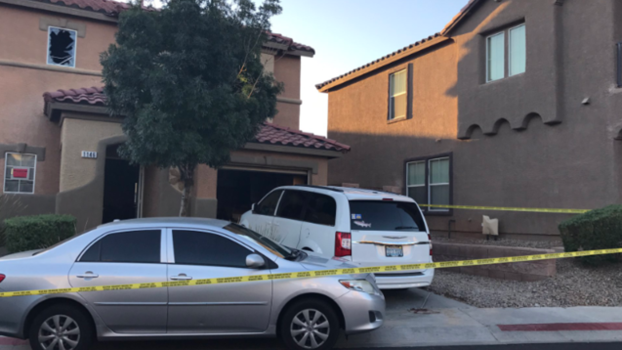 Police say woman and two kids found dead