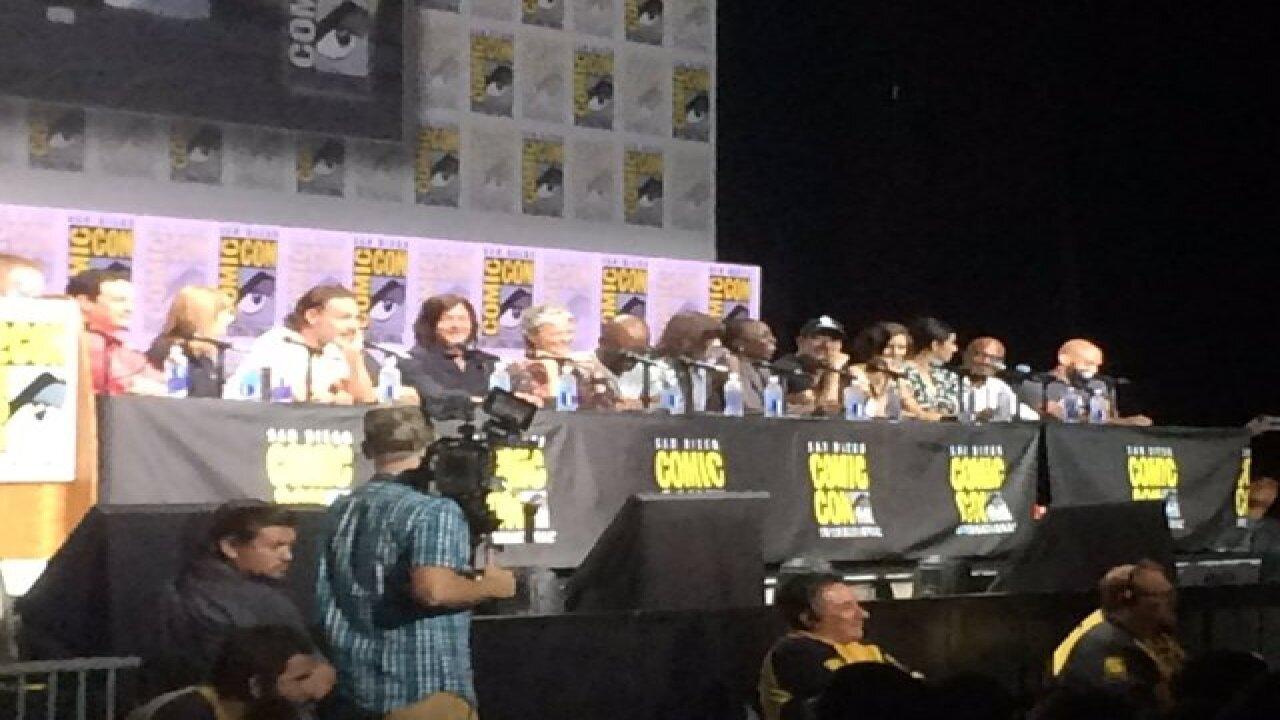 Walking Dead cast appears at Comic-Con
