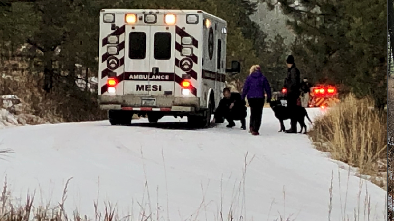 Blue Mountain Road Accident