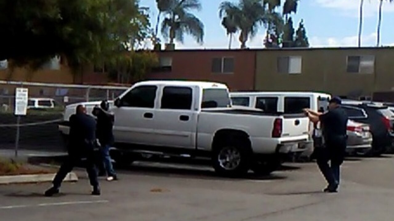 Report: Cop shot mentally ill man in San Diego