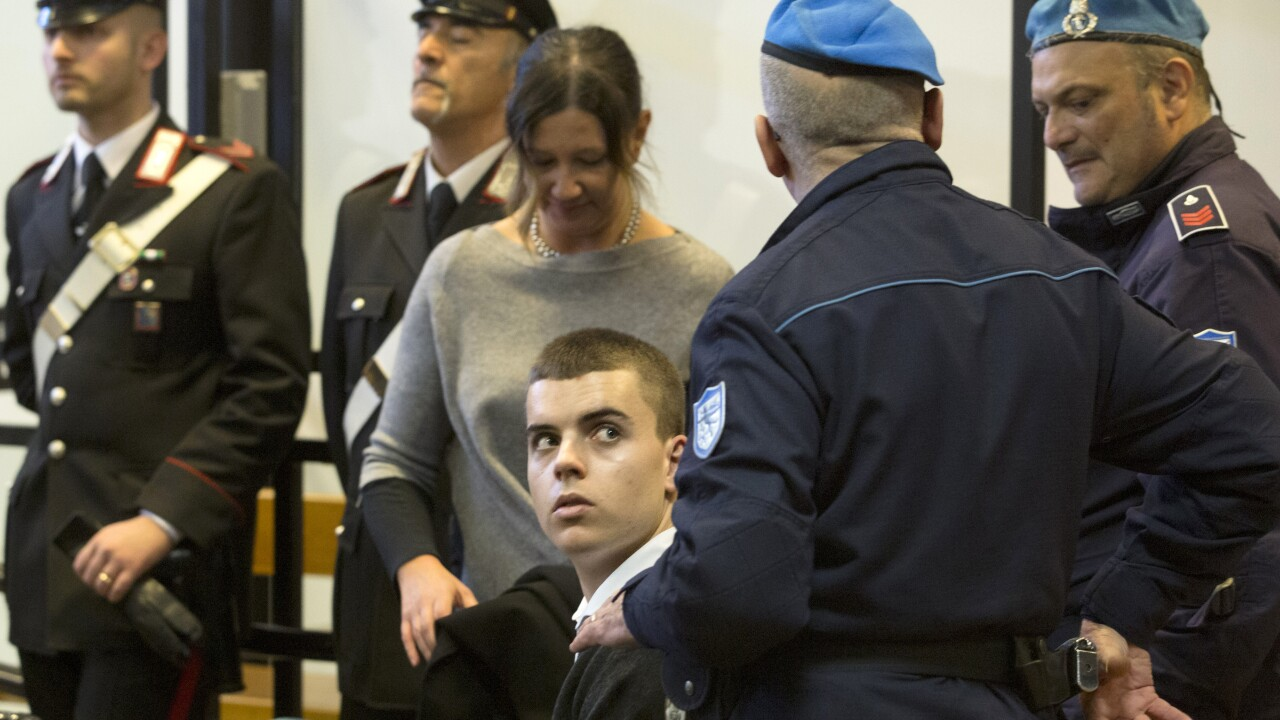 Trial begins for 2 Americans accused of killing Italian officer