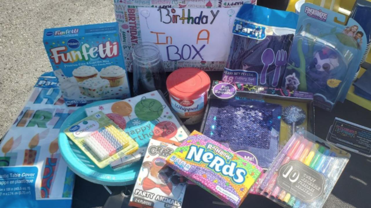 Birthday in Box from Celebrate Birthdays