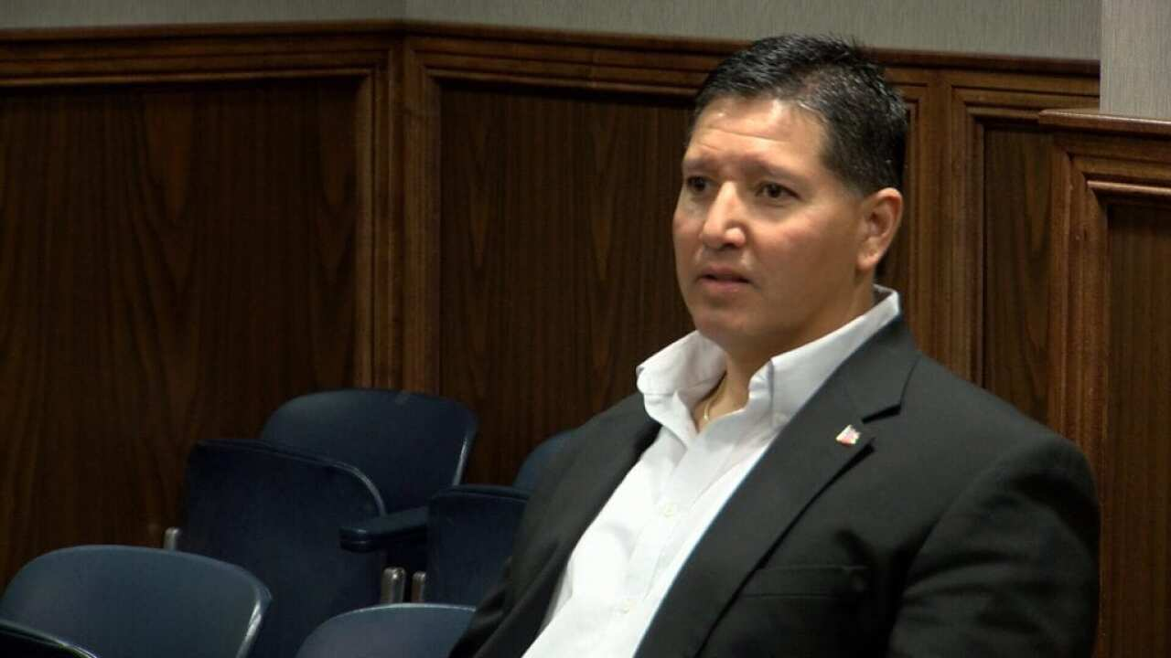 Judge sentences retired CCPD officer Tommy Cabello to 10 years in prison