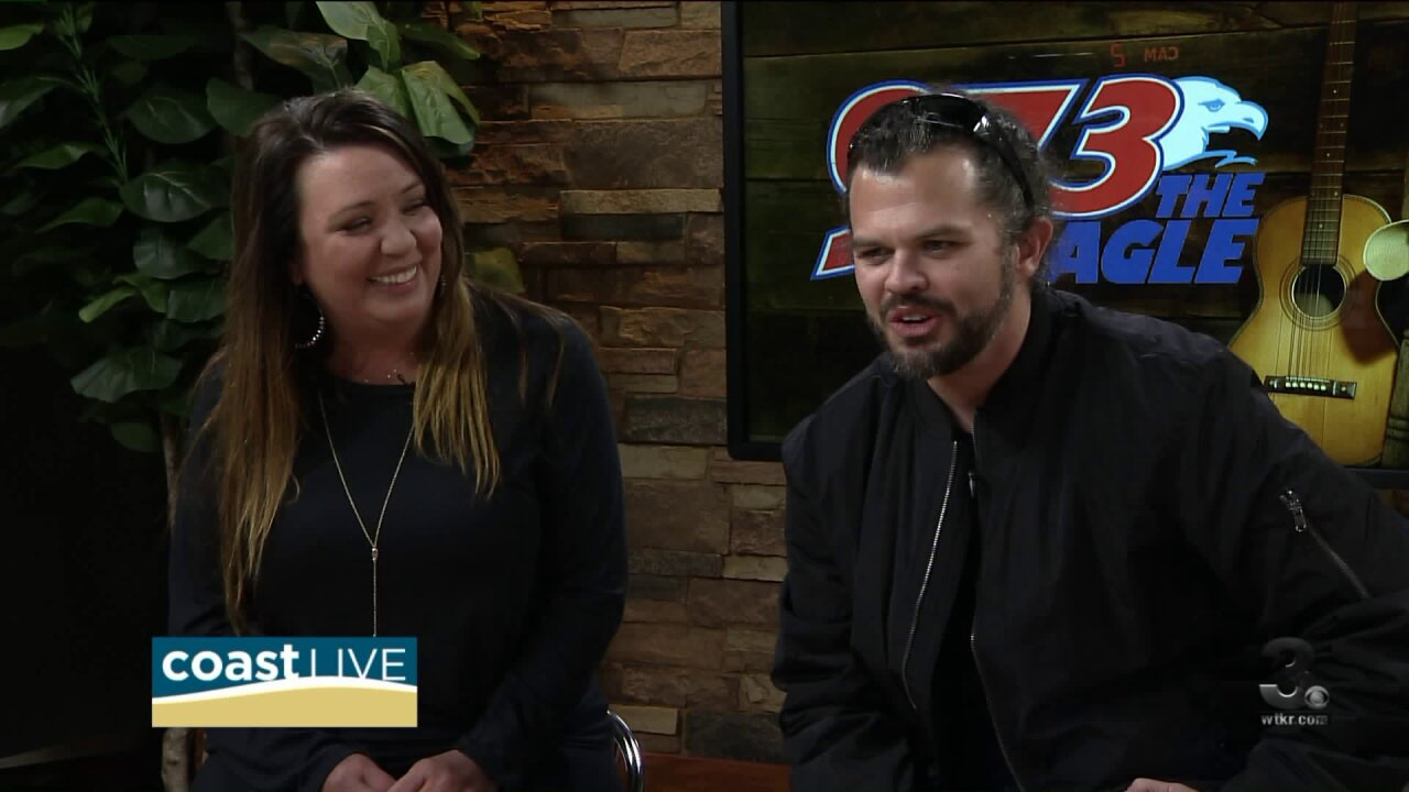 Meet Cash and Carly from 97-3 The Eagle on CoastLive