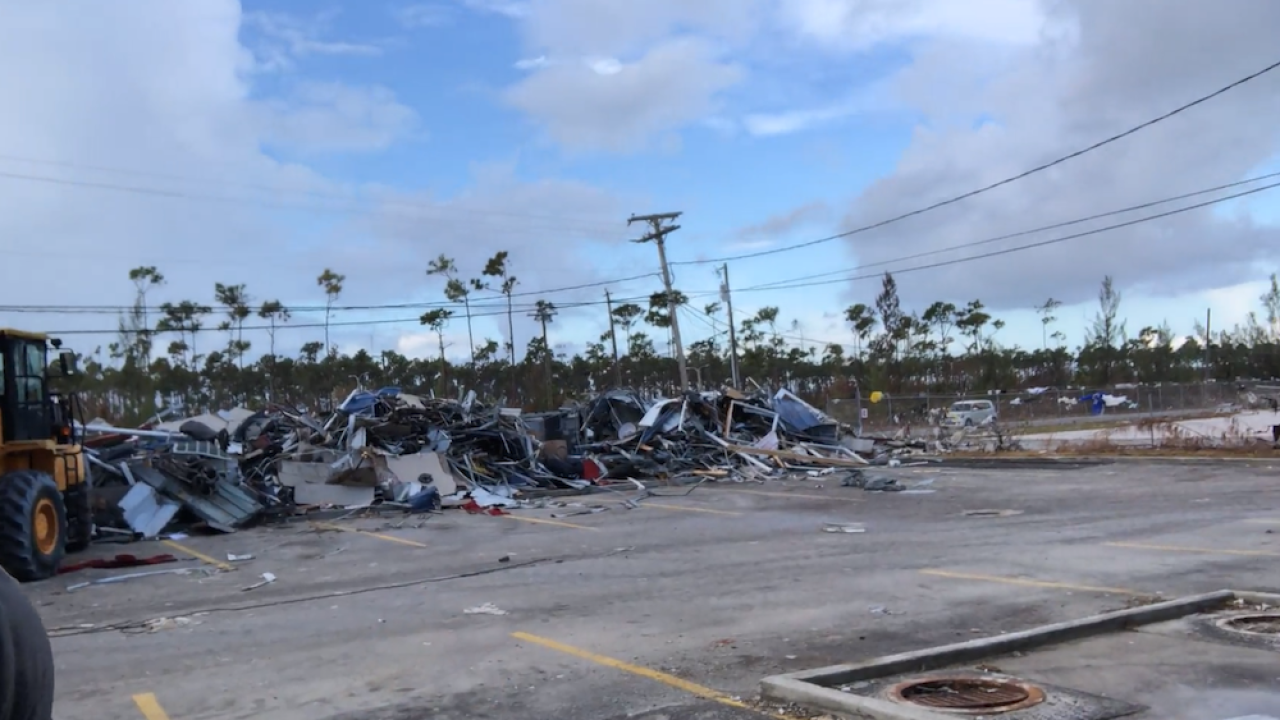 Shelters filling up as displaced residents flee to Nassau after Hurricane Dorian