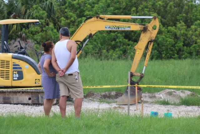 Photos: Cape Coral utility worker incident