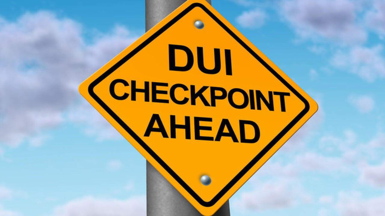 BPD arrests 4 drivers in DUI checkpoint