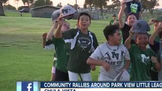 Community rallies around Park View Little League