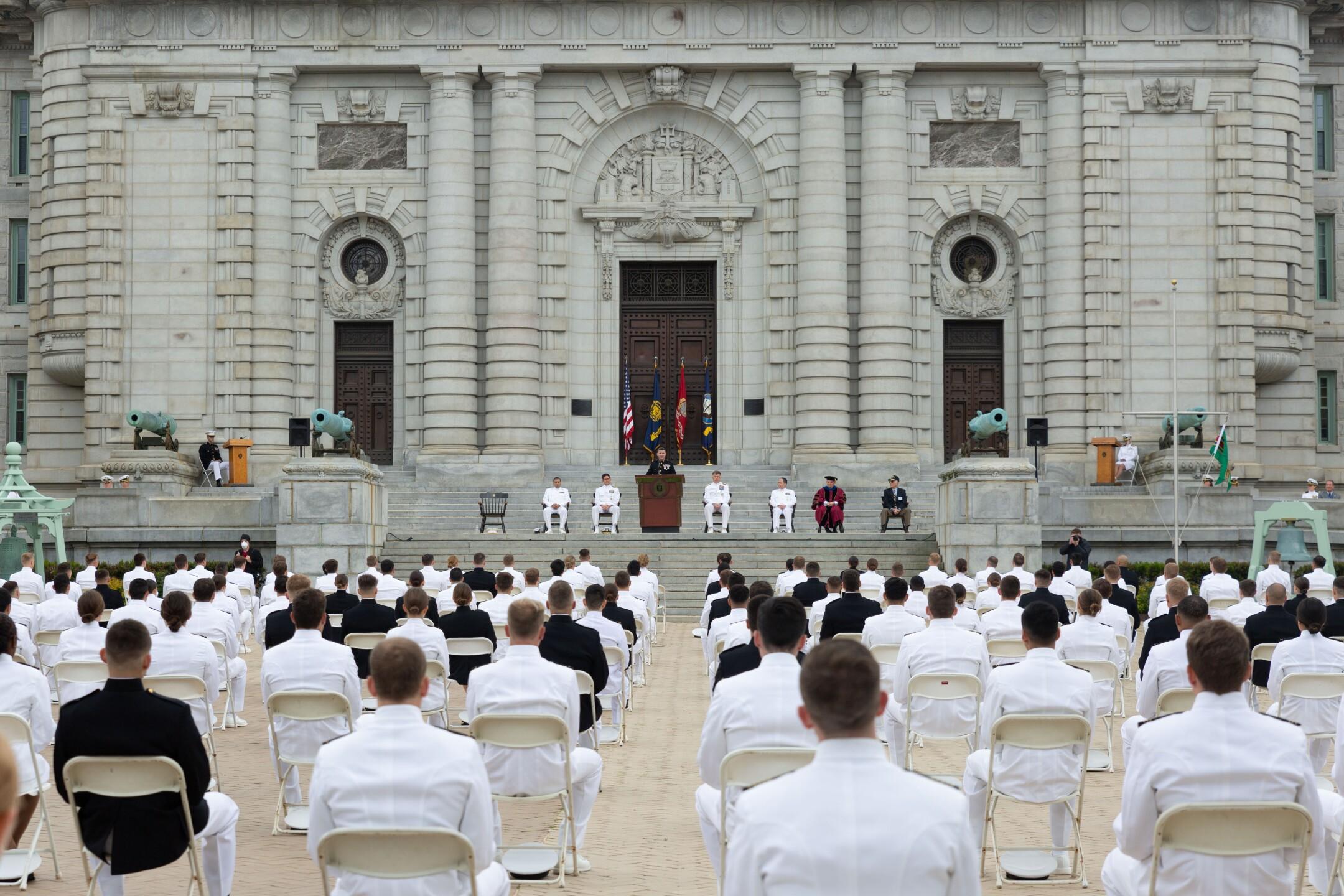 Photos courtesy of the US Naval Academy