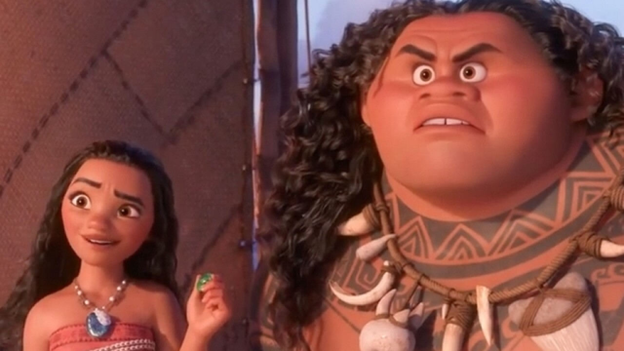 'Moana' a Disney hit but portrayal irks some in the Pacific