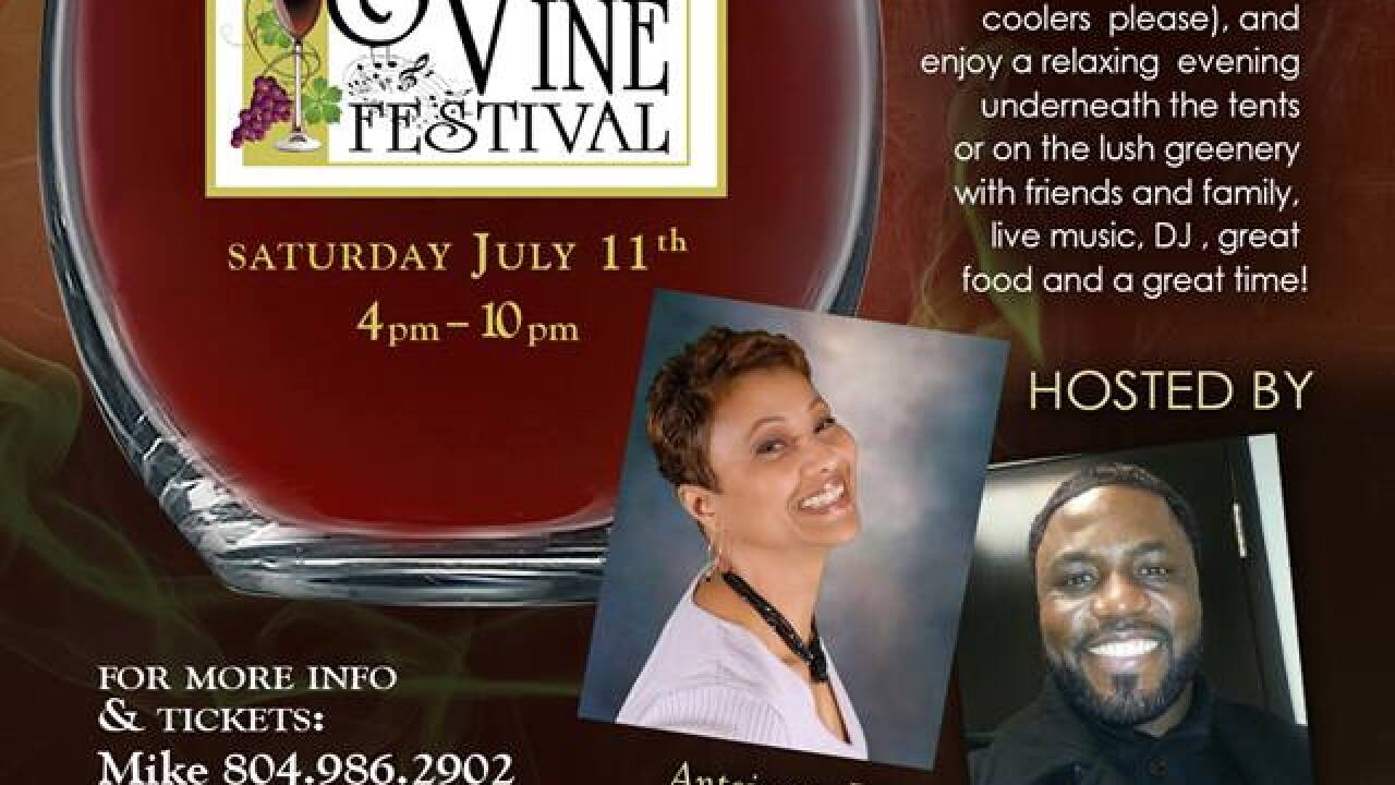 Smoke and Vine Wine Festival at James River Cellars