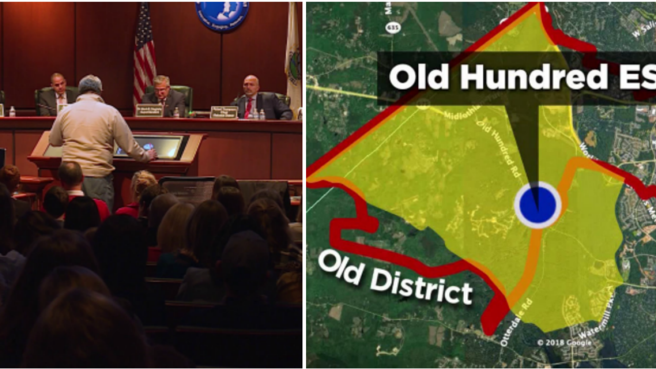 Old Hundred Elementary redistricting plan approved by School Board