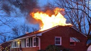 E Caryhurst Rd fire