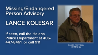 Missing/Endangered Person Advisory has been issued for Lance Kevin Kolesar