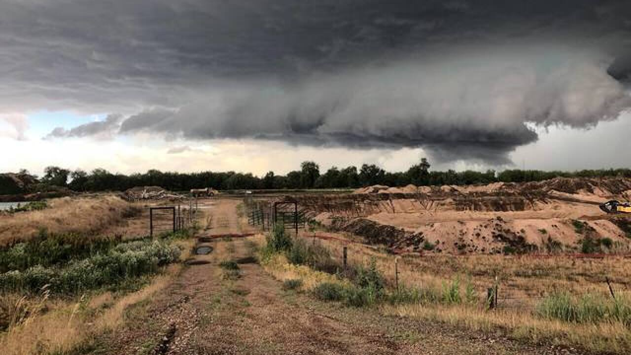 More severe weather in Colorado today