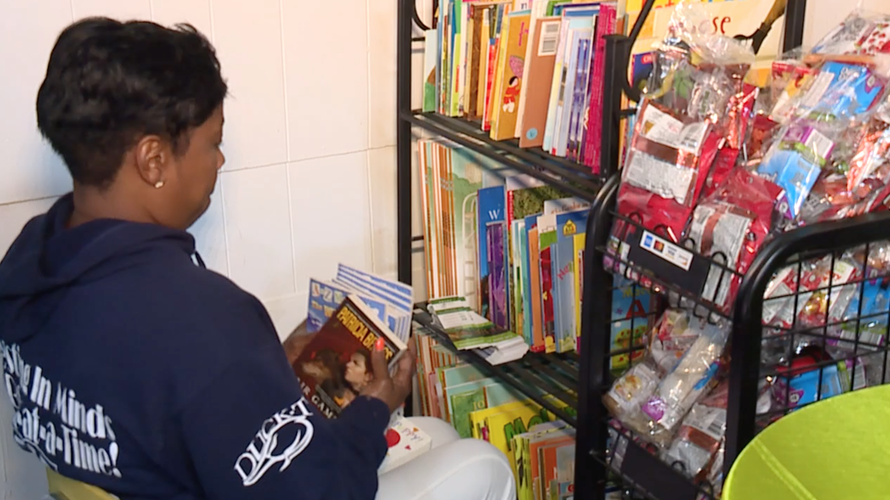 Literacy in the HOOD providing books to children in Cleveland's underserved neighborhoods