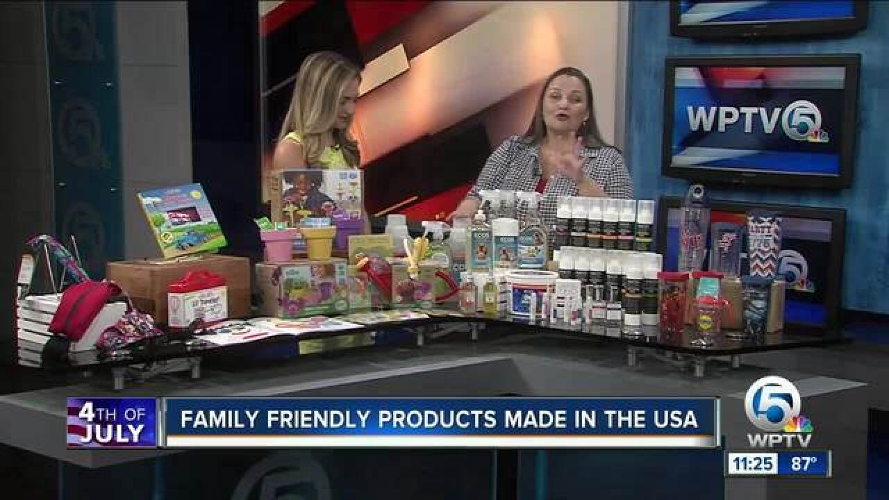 Family-fun products built in the USA
