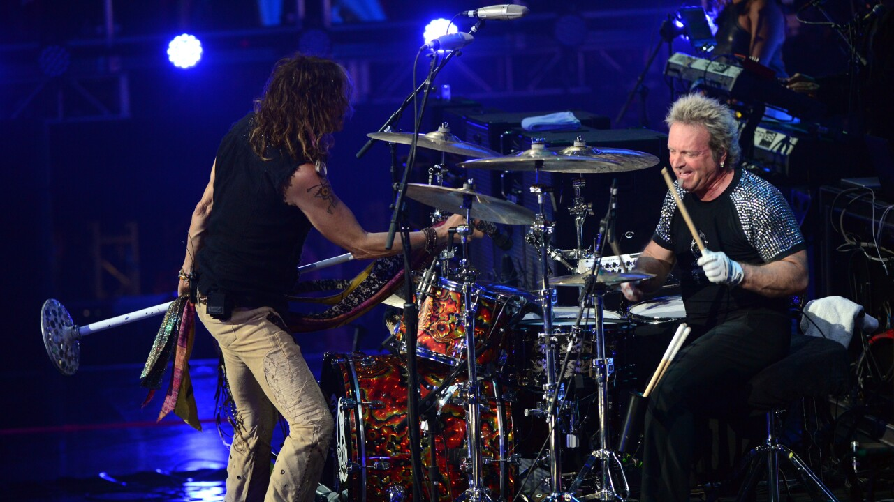Aerosmith drummer has 'minor accident,' will not play in Vegas tomorrow