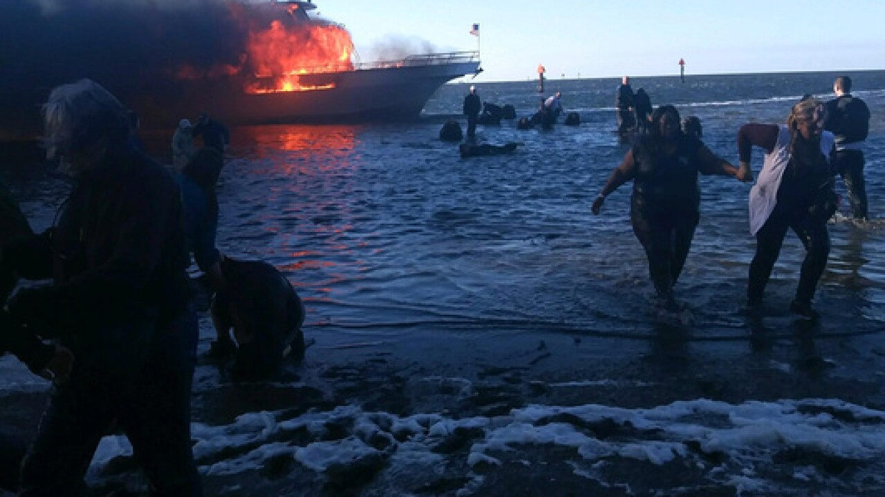 1 dead from shuttle boat fire in Port Richey