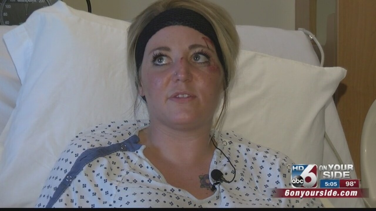 7 hospitalized after crash on HWY 55