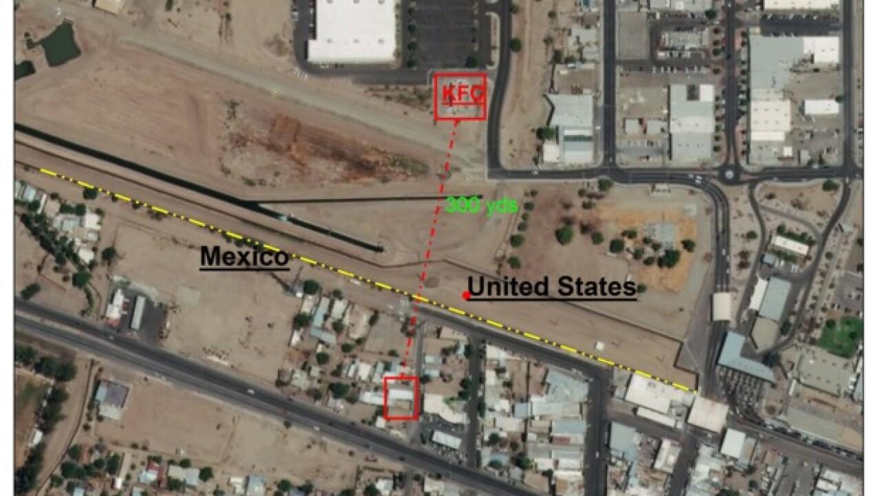 Cross-border tunnel found in Yuma