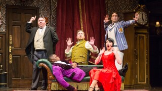 The Play That Goes Wrong touring