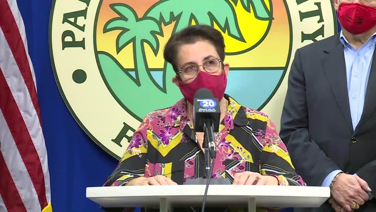 Dr. Alina Alonso provides coronavirus data, Jan. 19, 2021