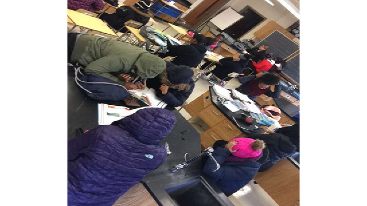 Western High School experiences heating issues
