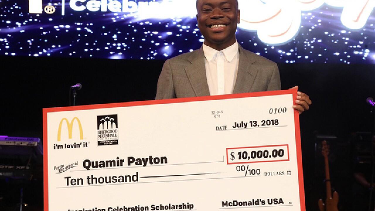 Morgan State freshman awarded $10k scholarship