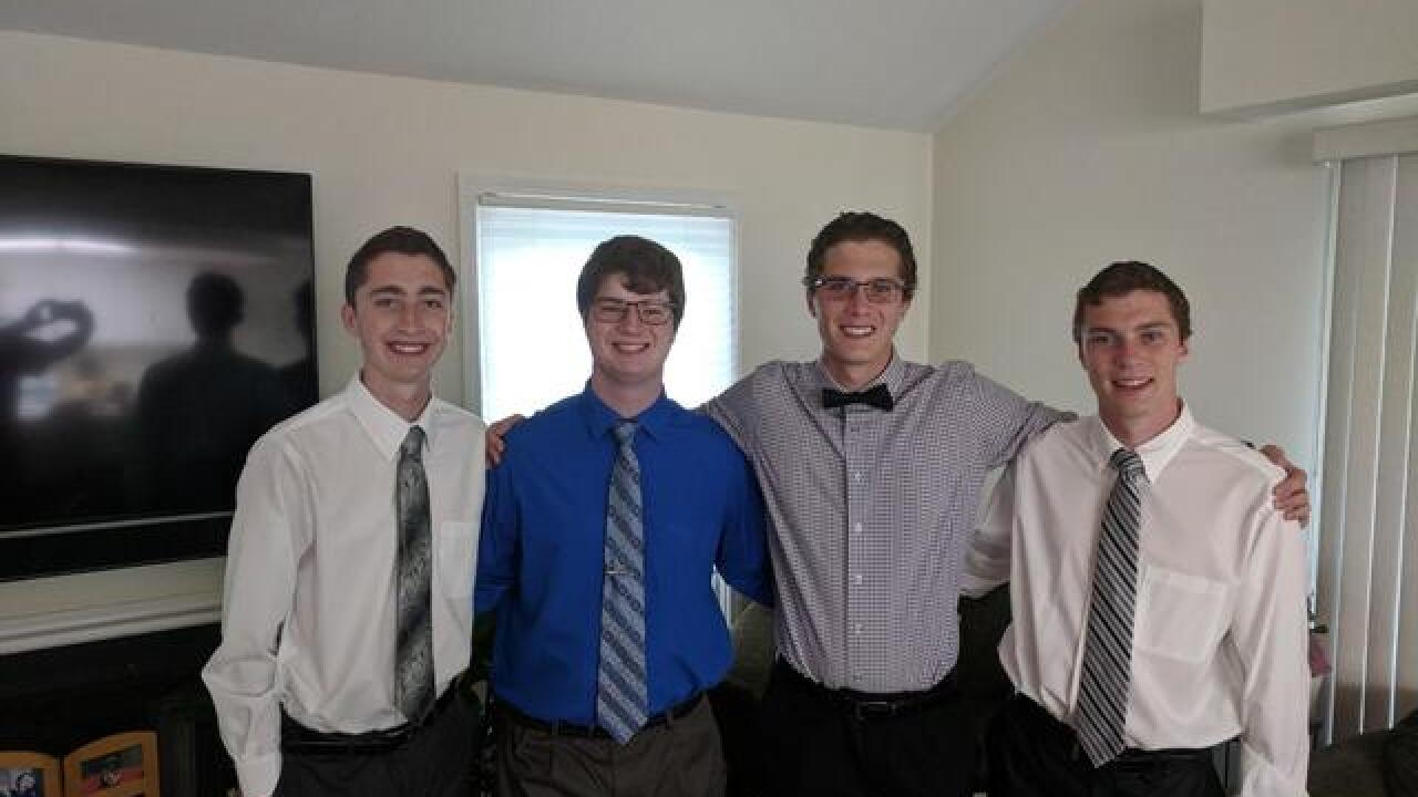 Quadruplet brothers all accepted to MSU