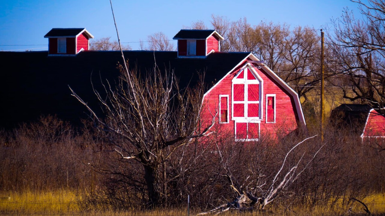 Falcon Red Barn